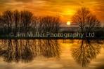 Fish Ponds Sunset